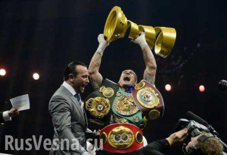 WBC лишила Усика титула чемпиона мира в тяжёлом весе