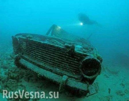 Раки — ВСУ 1:0 — украинский военный утонул вместе с автомобилем