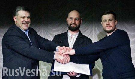 Добить Порошенко: зачем объединились нацисты и смогут ли они попасть в Раду