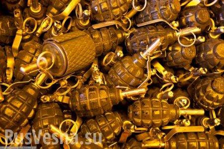 Это Украина: вДнепропетровске женщина продавала гранаты в подземном перехо ...
