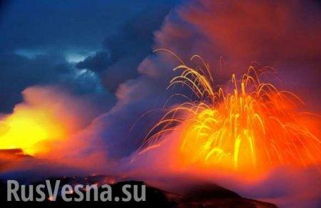 Извержение «древнего монстра», спавшего несколько сотен лет, — впечатляющие кадры (ФОТО, ВИДЕО)