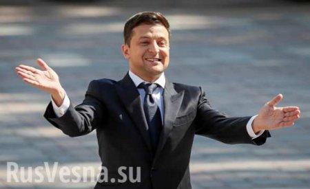 «Президент дляхохм»: вСовфеде высмеяли пробежку Зеленского через фонтан ( ...