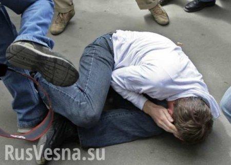 Украинцы устроили массовую драку из-за места вмаршрутке (ВИДЕО)