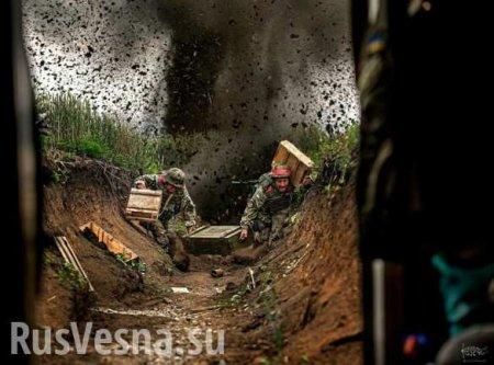 Армия ДНР уничтожила огневую точку и двух карателей, ранив ещё пятерых: сводка овоенной ситуации наДонбассе (ВИДЕО)