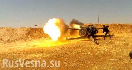 СРОЧНО: Начались боимежду армиями Сирии иТурции, в небе турецкие истребители