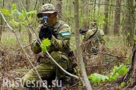 Готовится диверсия: к границе ЛНР прибыл спецназ ВСУ