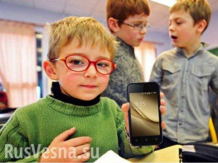 Российским школьникам могут запретить пользоваться смартфонами в учебных заведениях