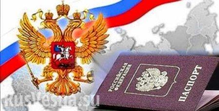 ВДНРоткрыли горячую линию повопросам получения гражданства России