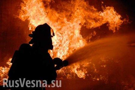 На пожаре в Подмосковье есть погибшая