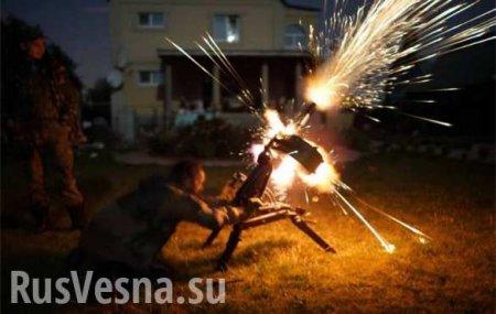 ЛНР: сбит беспилотник, гранатомётный выстрел убил одного и ранил двоих кара ...