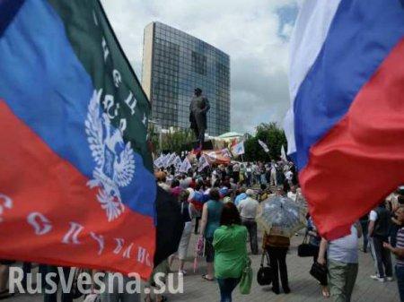 Наш путь — только с Россией! Никакой Украины! — европейский доброволец ДНР (ВИДЕО)
