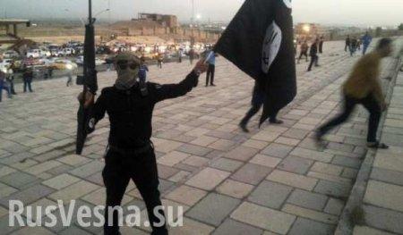 Над американским «концлагерем» в Сирии поднят флаг ИГИЛ (ВИДЕО)