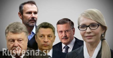 Выборы на Украине: Кто победит, а кто останется за бортом? (ВИДЕО)