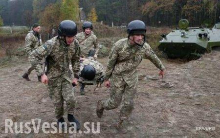 Непреодолимая водная преграда: БМД сдесантниками ВСУ утонул наглазах инструкторов НАТО