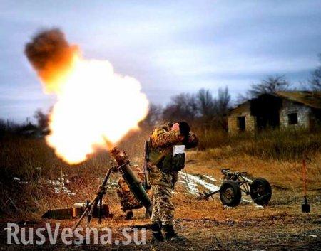 Накануне перемирия ВСУ нанесли удар по Александровке (ВИДЕО)
