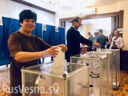 Выборы на Украине: свежие данные экзитполов