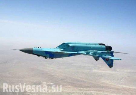 МиГ-29 рухнул в Каспийское море