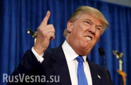 Трамп грозит ответить на «глупость Макрона»
