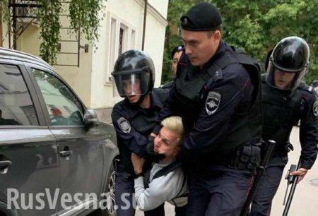 Большинство задержанных на вчерашней попытке майдана в Москве оказались при ...