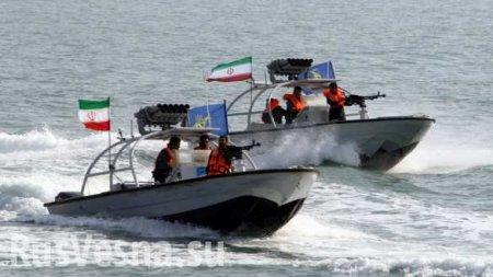 ВИране показали момент захвата британского танкера (ВИДЕО)