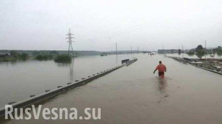 «Наше второе наводнение»: Тулун вновь заливает, местные жители публикуют уж ...