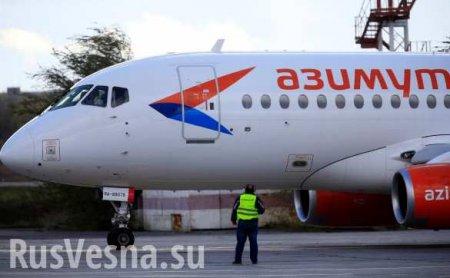 Sukhoj Superjet-100 с сотней человек на борту экстренно сел в Самаре после отказа двигателя