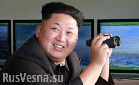КНДР испытала новое реактивное орудие, Ким Чен Ын обещает врагам «неизбежное бедствие»