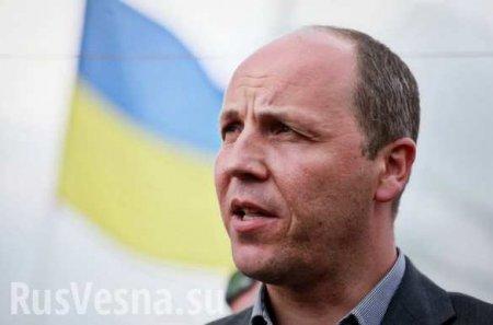 На Украине заставили открыть уголовное дело против Парубия