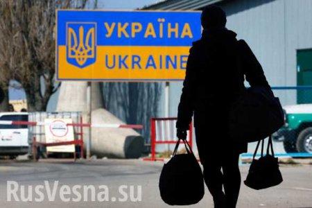 Половина украинцев окажется за рубежом, — Климкин