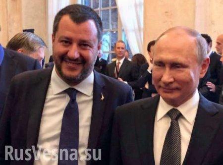 «Путин — великий президент», — вице-премьер Италии