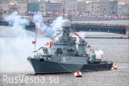 В США оценили военно-морской парад в Петербурге