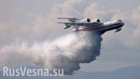 Военная авиация ликвидировала гигантские очаги лесных пожаров вСибири (ВИДЕО)