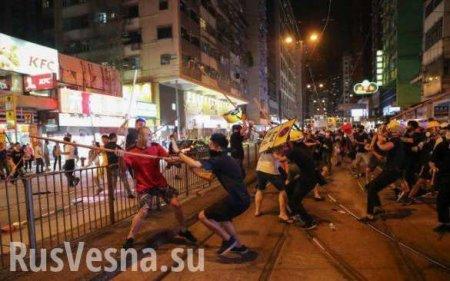 Столкновения с полицией и перекрытые дороги: Гонконг охвачен протестами (ФО ...