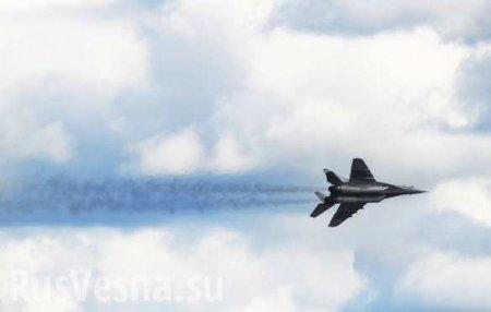 Обломки рухнувшего МиГ-29найдены вКаспийском море