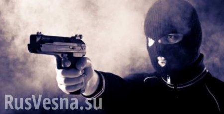 Донецкие полицейские задержали разбойника (ВИДЕО)