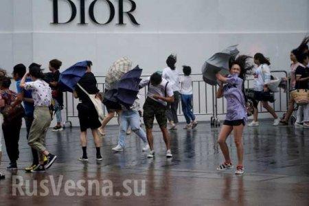 Супертайфун обрушился на Китай: десятки жертв и огромные разрушения (ФОТО, ВИДЕО)
