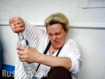 Это чудовищно: в Днепропетровске пьяная мать поила младенца водкой