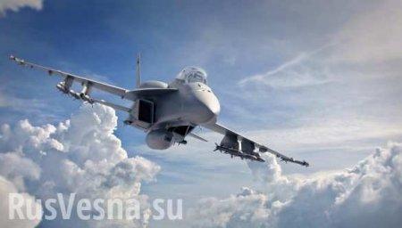 Су-27 отогнал истребитель НАТО отсамолёта Сергея Шойгу (ВИДЕО)