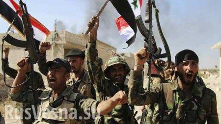 МОЛНИЯ: Армия Сирии захлопнула котёл в Идлибе и взяла важную крепость боеви ...