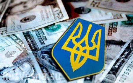 Долг Украины вырос на $1,5 млрд