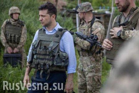 Комик не стал главнокомандующим? Каратели на Донбассе отказались выполнять  ...
