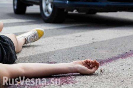 Жуткое ДТП: Под Киевом полицейский протаранил остановку с людьми (ФОТО, ВИДЕО)