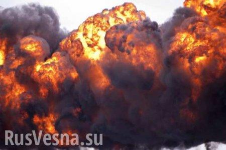 Взрыв и пожар на танкере в порту Южной Кореи, среди экипажа — россияне (ФОТО, ВИДЕО)