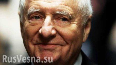 МОЛНИЯ: Умер Марк Захаров