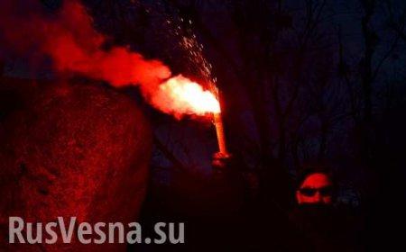 «Убегаю от националистов!»: киевлянин прервал прямой эфир из-за угрозы жизни (ФОТО, ВИДЕО)
