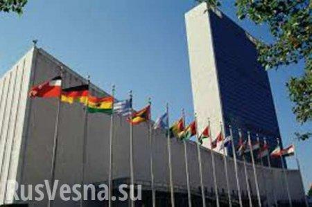 В ООН ответили на предложение России о переносе работы комитета Генассамбле ...