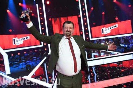 69-летний шахтёр из ДНР стал победителем «Голоса» (ВИДЕО)