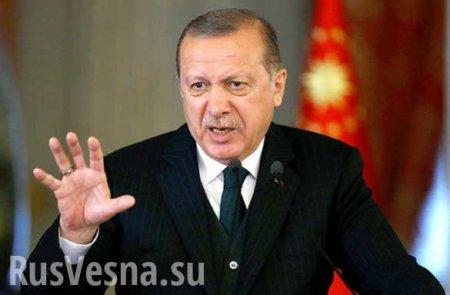Эрдоган объявил о начале масштабной операции против курдов