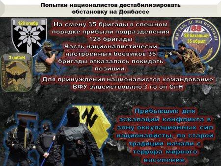 Каратели несут большие потери, нацисты активизируются не только на Донбассе, а в нацгвардии назревает бунт: сводка с Донбасса (ИНФОГРАФИКА)