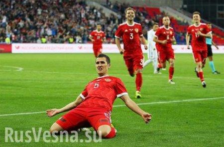 МОЛНИЯ: Сборная России разгромила Кипр вотборочном матче Евро-2020 (ВИДЕО)